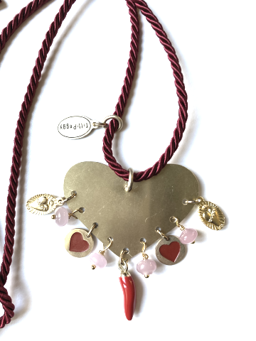 Collana AND, var. rosso